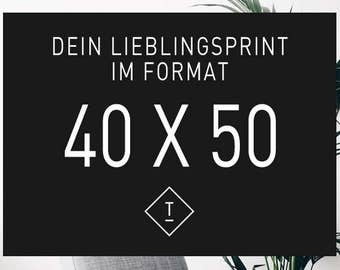40 x 50 cm / Fine Art-Print, Wall-Art, Minimal Poster Art, Typography Art, Premium Poster, Kunstdruck Poster