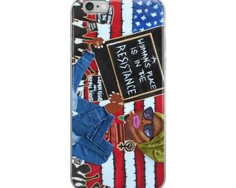 Polichicks iPhone Case
