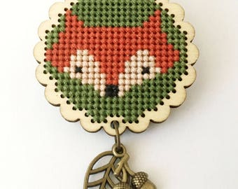 Brooch Foxy