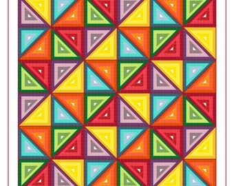 Triangles Biscornu - PATTERN ONLY