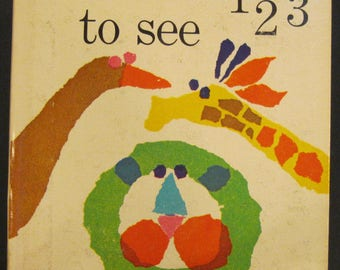 ANIMALS TO SEE 123   vintage Whitman Top Top Tales Patricia Martin Zens 1964  count 1-10  Very Good!!