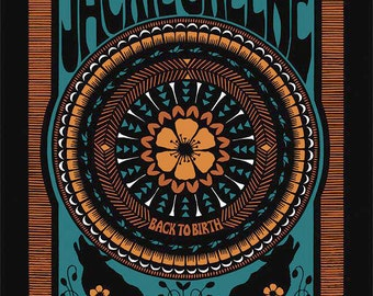 Jackie Green Back To Birth 2015 Tour Concert Poster