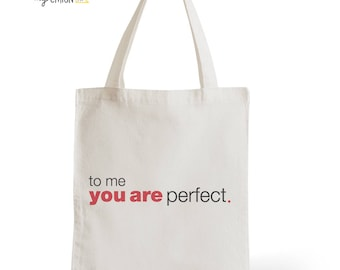 Bag cotton Tote Bag Love Actually