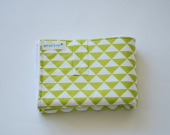 Changing mat - green triangles