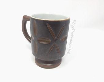 Vintage Atomic Starburst Mug - Mid Century