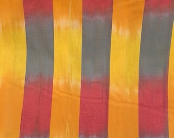 Bolt end 1 3/4 yd.  Kaffe's Artisan collection - Ikat Stripe in yellow