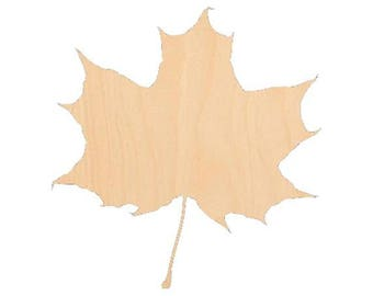 Maple Leaf - Laser Cut Shapes - LCSH-110