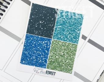 Bold | Glitter Headers | Planner Stickers