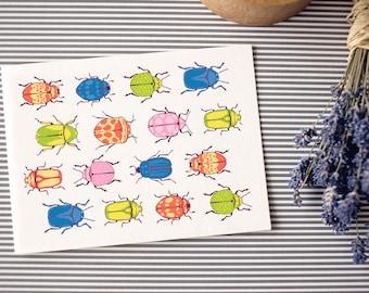 Postcard: bugs