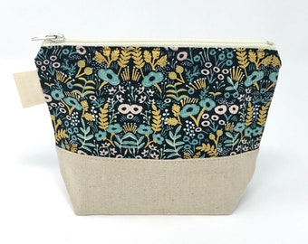 Reusable Snack Bag: Menagerie Floral