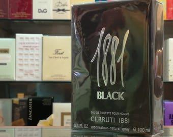 1881 Black Cerruti Eau de Toilette 100ml EDT Homme Spray