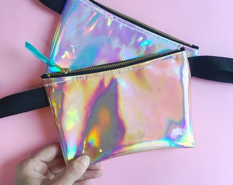 Holographic Festival Fashion Party Bum Bag (Fanny Pack)