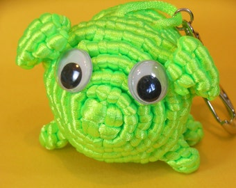 Chinese Knot Pig King Keychain or Backpack Hanging