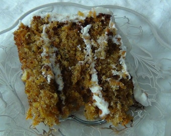 Moist and Yummy Carrot Cake PDF Recipe