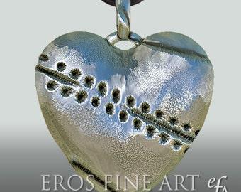 Herzanhänger Broken Heart - exklusiver Silberanhänger - Erotikschmuck- BDSM - Bondage - Ketten - Geschenk - Herz -  Fetisch