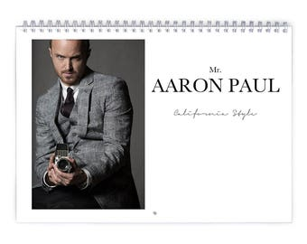 Aaron Paul Vol.2 - 2018 Calendar