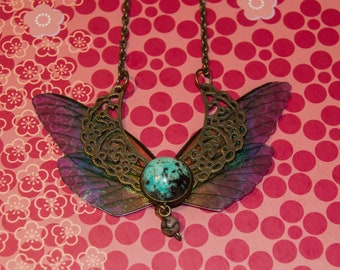 Necklace wings to choose