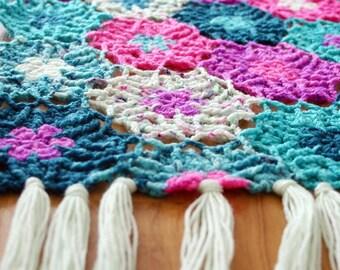 Crochet Pattern, Haarlem Wrap, Shawl, Scarf