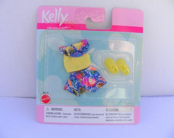 Vintage Barbie Kelly Fashion Favorites , Barbie Accessories , 1999 Kelly Doll Clothes , Fashion Doll  , Kelly Doll Clothing , Barbie Outfit