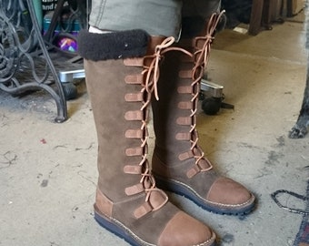 handmade and made to measure Knee boots