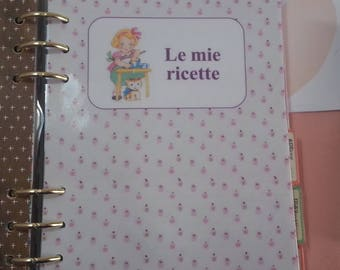 Planner Set my recipes available sizes A5/large Personal planner/planner