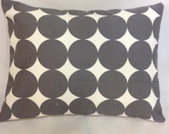 Dwell Studio Dwell Dot in Gray Pillow Covers