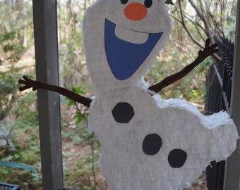 Olaf Pinata, Olaf Piñata, Frozen Olaf, Frozen Pinata