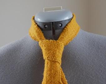 Knitting Pattern PDF - Knitted Necktie