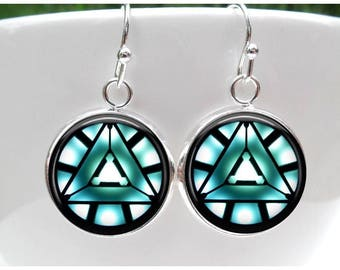AA Recovery Symbol Earrings - Alchoholics Anonymous Earrings -Sobriety Earrings - Recovery Jewelry -Sobriety gift for women