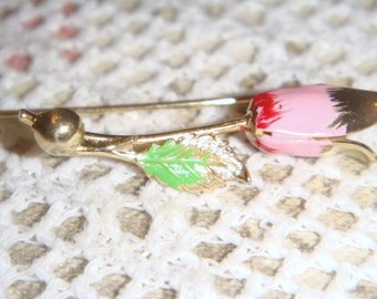 Vintage Rose stick pin hat pin
