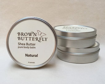 Natural Shea Butter 4 oz.