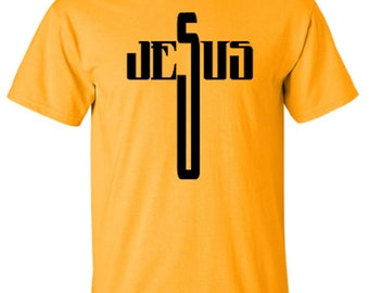 Jesus Cross Spiritural Adult Unisex Tshirt