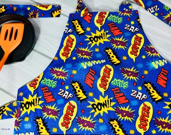Kids Apron - Super Hero