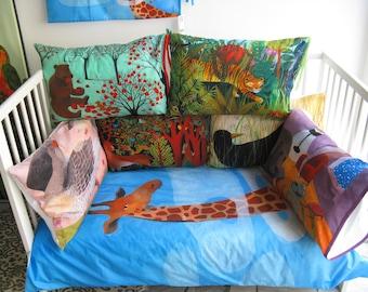 Le Coccole. Slumberland Bedding Illustrated by Simona Mulazzani