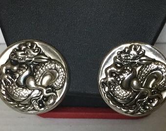 Fabulous Dragon Earrings by MARINO