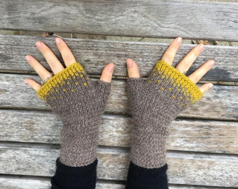 Driftless Mitts KNITTING PATTERN