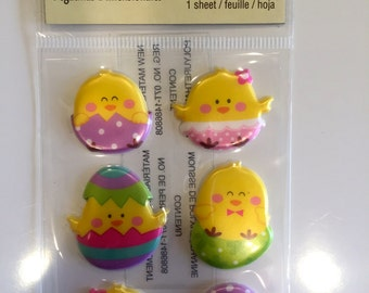 Recollections Easter Chicks Dimensional Stickers