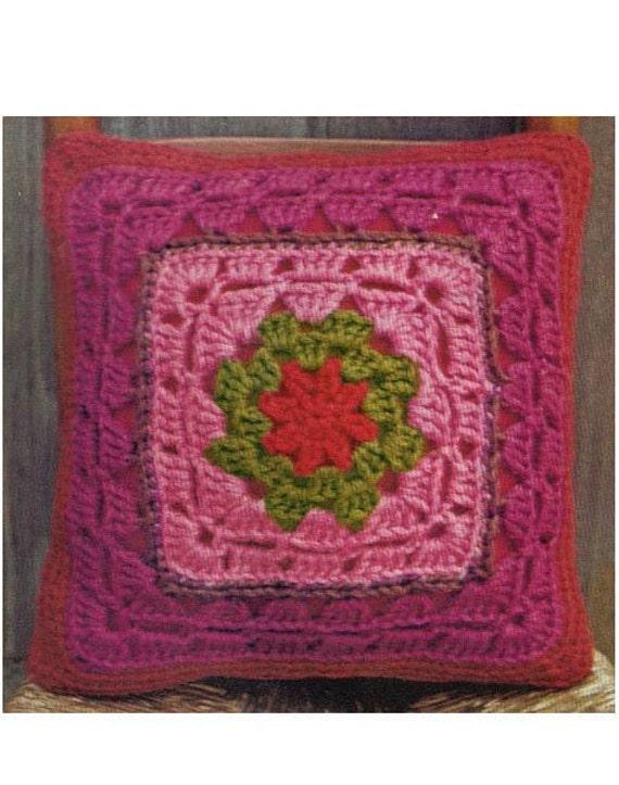 Crochet Pillow Pattern Crochet Cushion Pattern Crochet Pillowcase