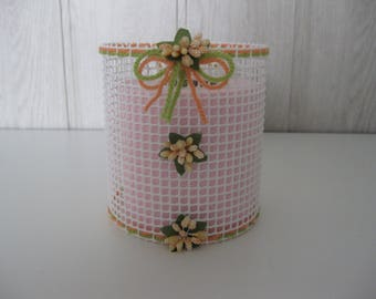 mesh toilet paper roll cover