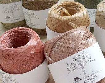 Eco Andaria Yarn 55 Colors to Choose From - Japanese Hamanaka Yarn