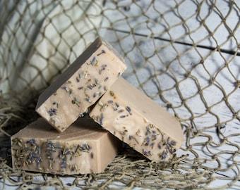 Lavender Patchouli Soap, Handmade Cold Process Soap Bar