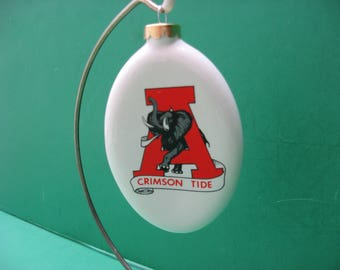 University of Alabama Crimson Tide hanging ornament...awesome..made in USA
