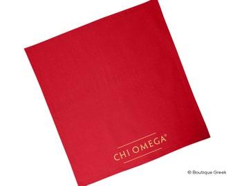 ChiO Chi Omega Brand Sorority Blanket