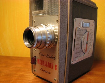 Vintage Kodak Medallion 8 Movie Camera