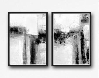 abstract black and white art