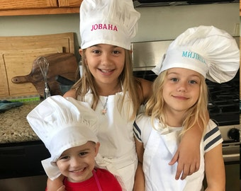 Personalized Serbian Children's Chef Hat