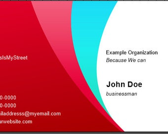 Colorful Crest Business Cards