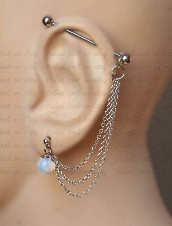 industrial barbell industrial piercing ear gauges jewelry. Black Bedroom Furniture Sets. Home Design Ideas