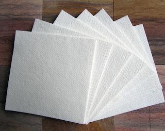 "20 Sheets 4x4"" Kiln Shelf Paper • 1 mm • 2300 F • Ceramic Fiber Paper • Glass Fusing"