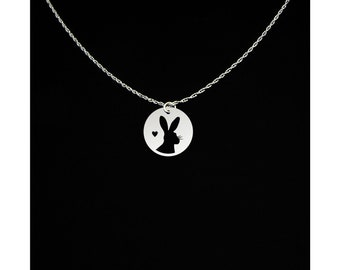 Bunny Necklace - Bunny Jewelry - Bunny Gift - Rabbit Necklace - Rabbit Jewelry - Rabbit Gift - Hare Necklace - Hare Jewelry - Hare Gift